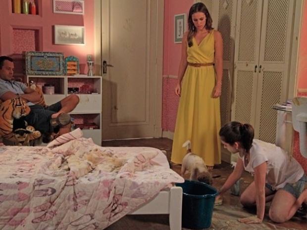 """Em """"Amor à Vida"""", Bruno fica revoltado com Paulinha por causa de Ninho"""