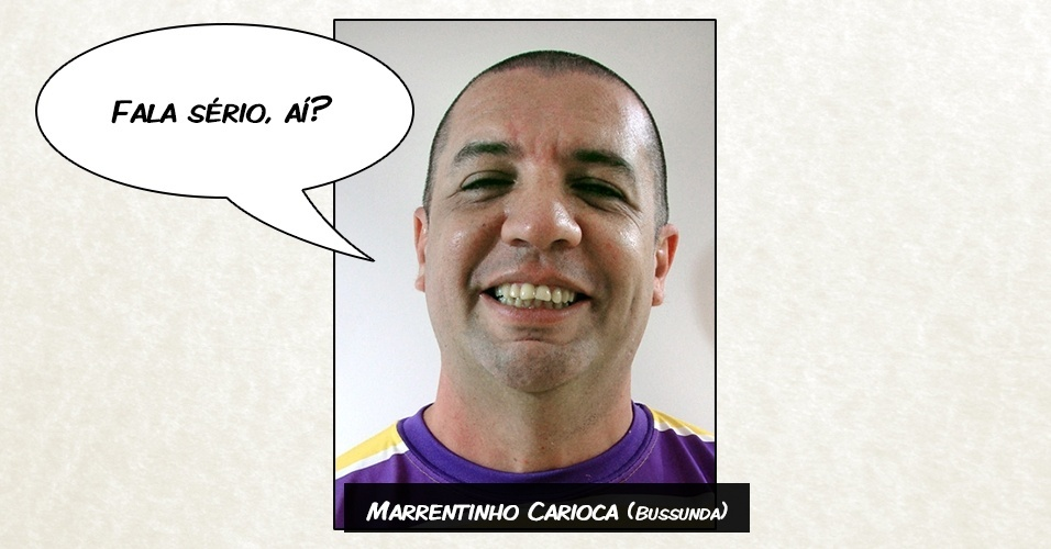 Marrentinho Carioca (Bussunda) - ?Fala sério, aí?