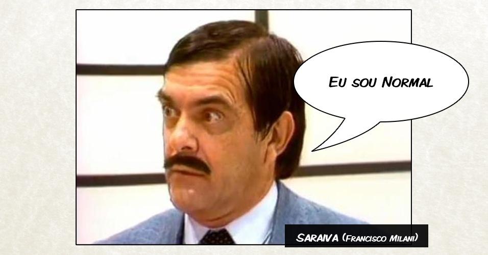 "Saraiva (Francisco Milani) - ""Eu sou Normal"""