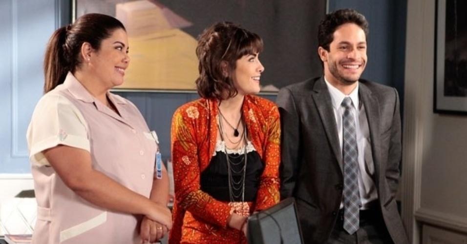 """Em """"Amor à Vida"""", Patrícia e Perséfone percebem que Rafael está apaixonado por Linda"""