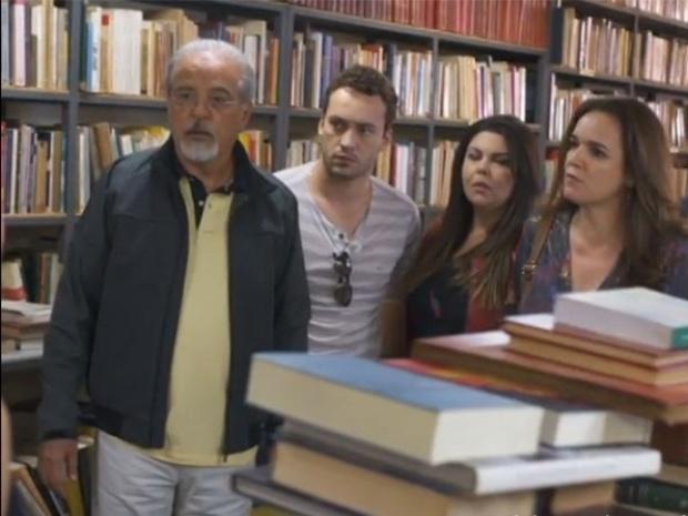 """Em """"Amor à Vida"""", Sandra dá bronca em Linda ao vê-la com Rafael"""