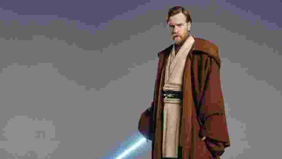 Ewan McGregor no papel de Obi-Wan Kenobi - Reprodução