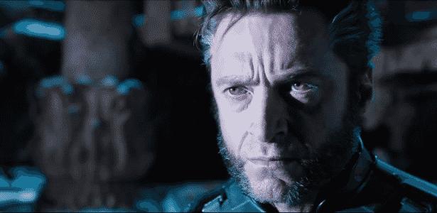 """Wolverine (Hugh Jackman) no 1º trailer de """"X-Men: Dias de um Futuro Esquecido"""" - Reprodução"""