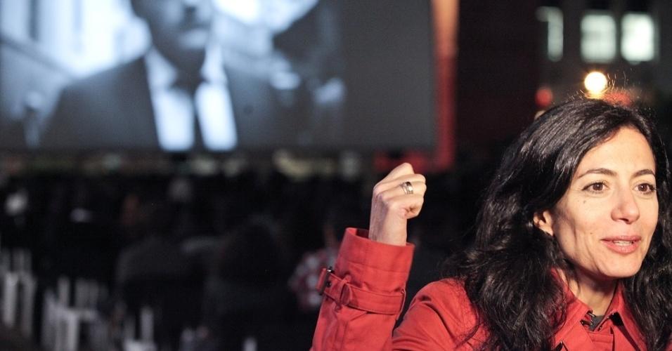 29.out.2013 - Marina Person apresenta exibição de