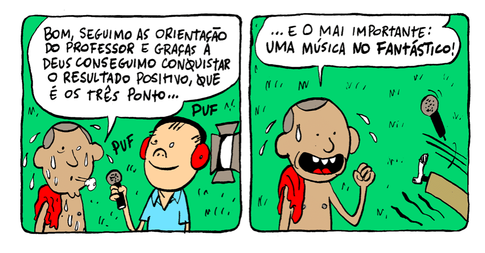 """31.out.2013 - Vitória é ter uma música no """"Fantástico"""""""