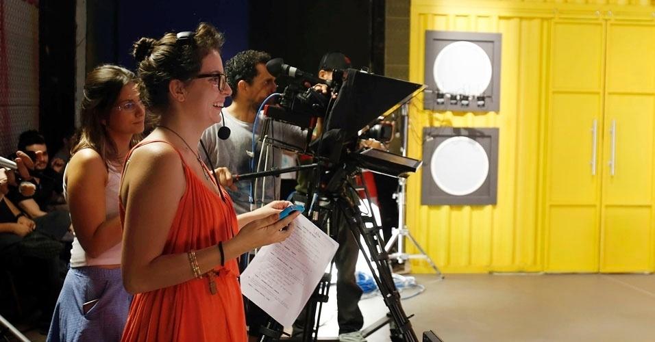 """Equipe do """"Coletivation"""" acompanha gravações do programa com Luan Santana"""