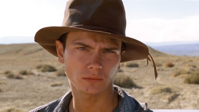 "River Phoenix em ""Dark Blood"""