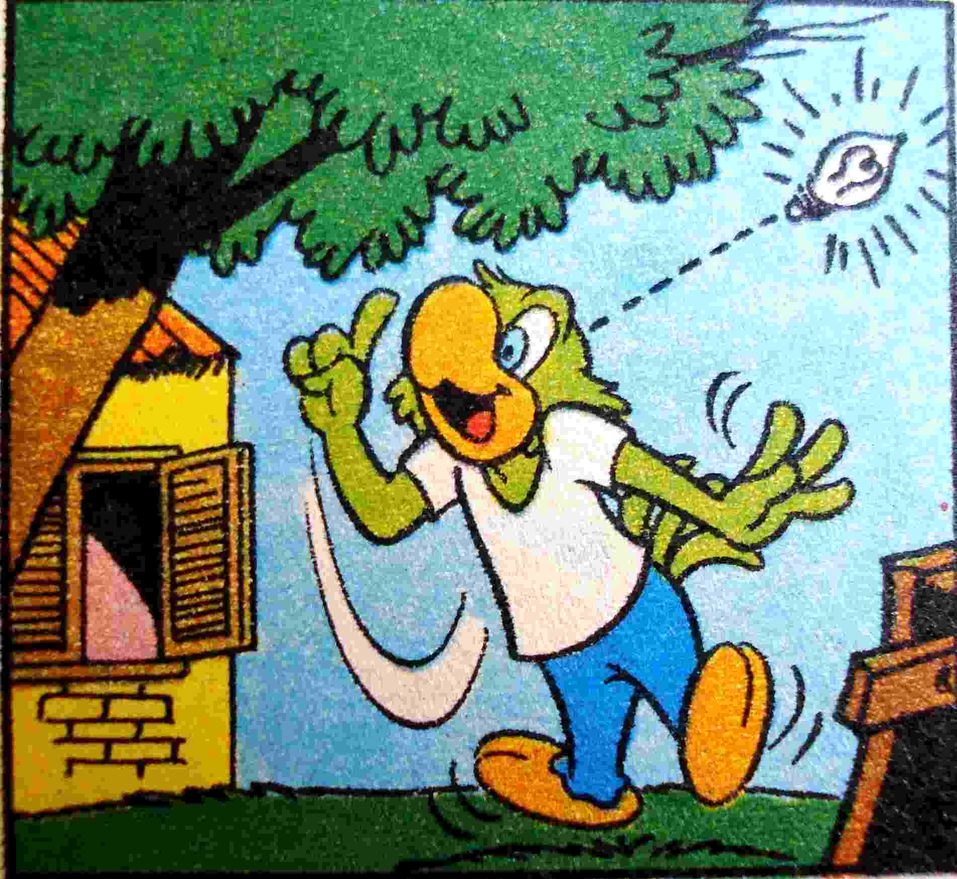 Imagem de HQ do Zé Carioca, personagem criado por Walt Disney após visita ao Rio de Janeiro - Divulgação