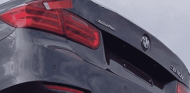 Unidades do BMW 320i com a grafia ActiveFlex foram vistas por Rodrigo Perini em Santa Catarina - Rodrigo Perini/UOL