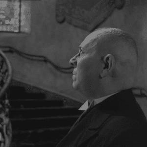 "Max Von Mayerling de ""Crepúsculo dos Deuses"" (1950) - Reprodução"