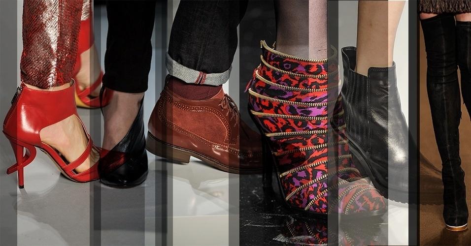No SPFW, além das tendências apresentadas para roupas, também são mostradas  para sapatos e 9d8e23fa54