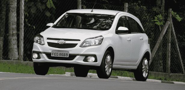 Chevrolet Agile LTZ 1.4 M/T - Murilo Góes/UOL - Murilo Góes/UOL
