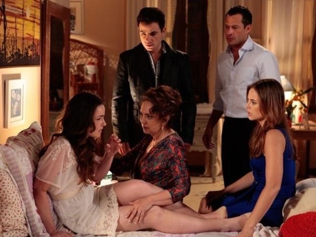"""Em """"Amor à Vida"""", Ordália diz a Gina que não sabe quem é o pai dela"""
