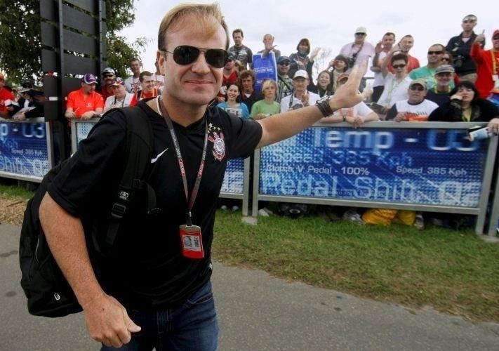 Rubens Barrichello é um corintiano assumido, e em 2007 comparou sua situação com a do time do coração: