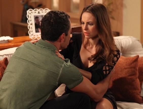 """Em """"Amor à Vida"""", Paloma faz Bruno prometer que nunca vai traí-la"""