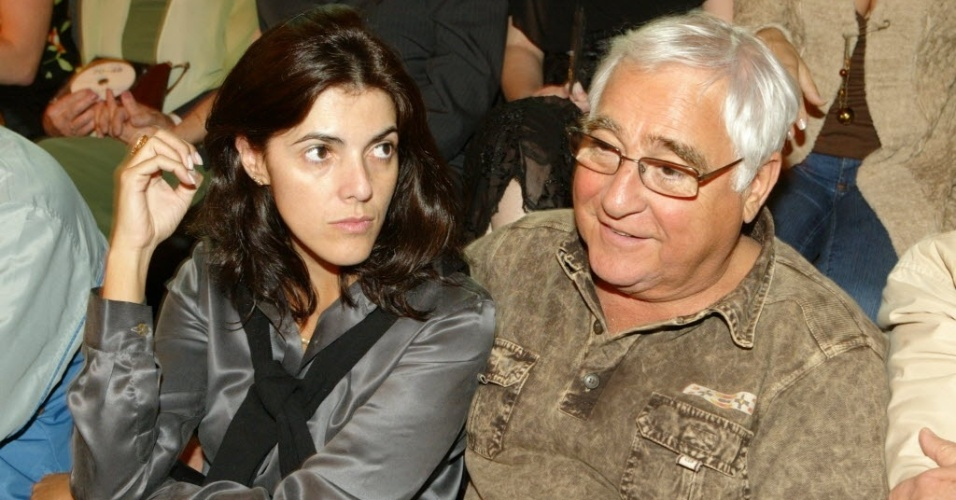 16.out.2006 - O ator Luis Gustavo na comemoração dos 70 anos de vida e 48 de carreira de Rolando Boldrin, na TV Cultura