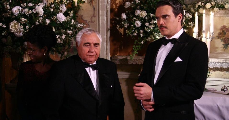 """2006 -  O ator Luis Gustavo em cena da novela """"O Profeta"""", da Rede Globo"""