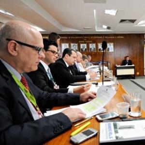 Integrantes do Conselho de Comunicação Social do Senado - Geraldo Magela/Agência Senado