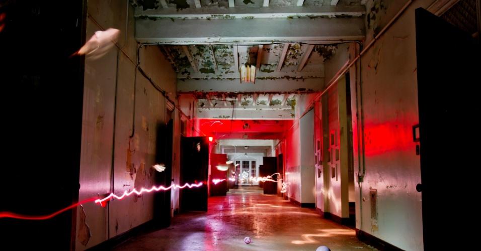 O prédio do Hospital Psiquiátrico Trans-Allegheny em Weston, na Virgínia Ocidental, tem fama de ser ninho de atividades paranormais