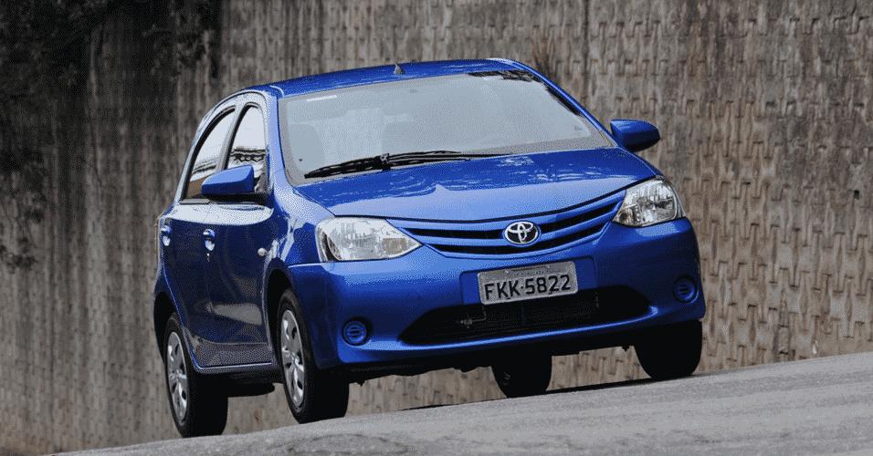 Toyota Etios XS 1.5 M/T 2014 - Murilo Góes/UOL