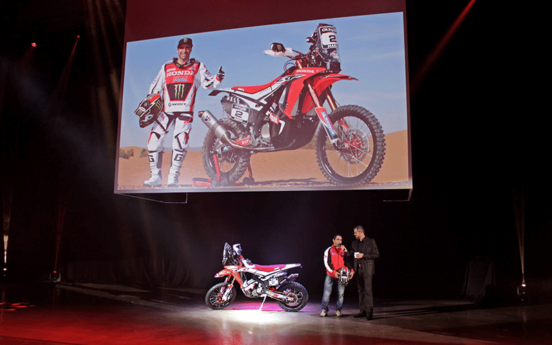 Honda NFR 450 Rally