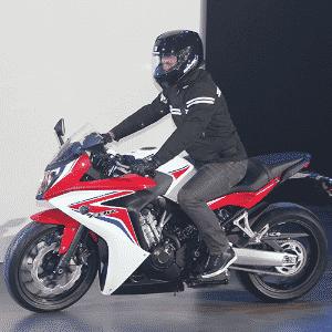 Honda CBR 650F - Artur Caldeira/Infomoto