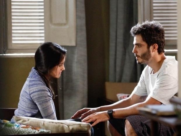 """Em """"Além do Horizonte"""", William consola a tia e promete encontrar o irmão que sumiu"""