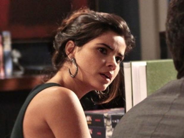 """Em """"Amor à Vida"""", Aline ataca Rafael após insinuação de golpe em César"""