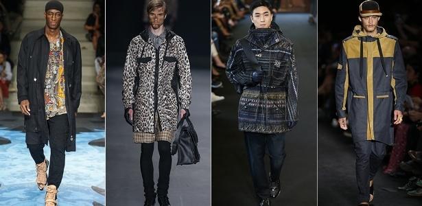 Peça clássica do vestuário, a parka esnaia retorno à moda, puxado pela tendência utilitária com grandes bolsos frontais - Alexandre Schneider/UOL
