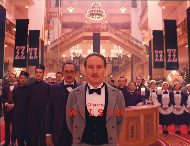 """05.nov.2013 -  Owen Wilson em """"O Grande Hotel Budapeste"""", filme de Wes Anderson que chega ao circuito comercial em 2014"""