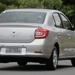 Renault Logan 1.6 M/T 2014 - Murilo Góes/UOL