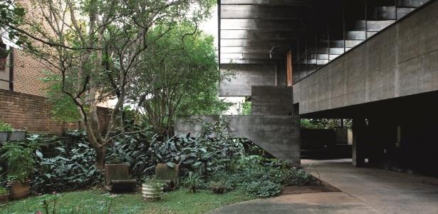 Projeto da casa Mendes da Rocha, assinada por Paulo Mendes da Rocha (1964), está no livro  - Leonardo Finotti/ Divulgação