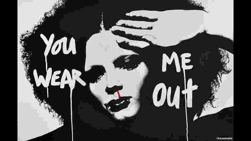 """Fotografia tirada pelo cantor Boy George que faz parte da exposição """"This Way Out"""" - Boy George"""
