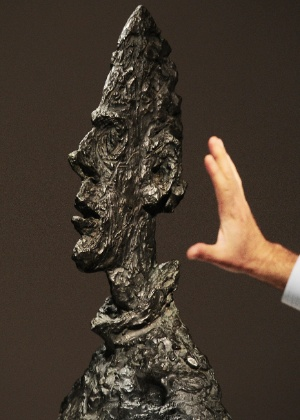 """Obra  """"Grande tete de Diego"""" de Alberto GIacometti - AFP"""