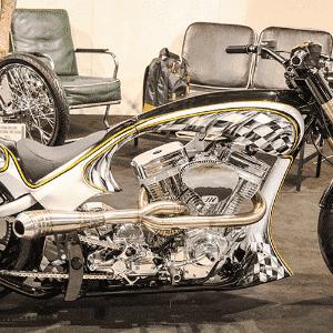 moto customizada Salão de Milão - Renato Durães/Infomoto