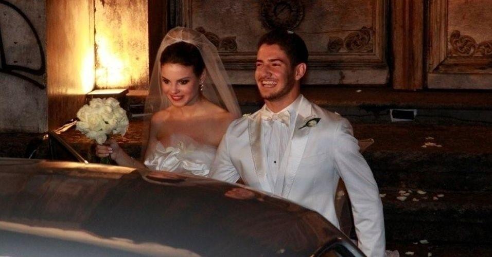 A atriz Stefhany Brito foi casada com o jogador de futebol Alexandre Pato