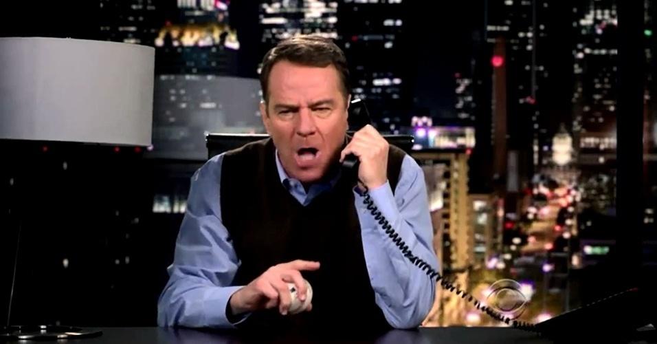 """Bryan Cranston em teaser de sua participação na nona temporada de """"How I Met Your Mother"""""""