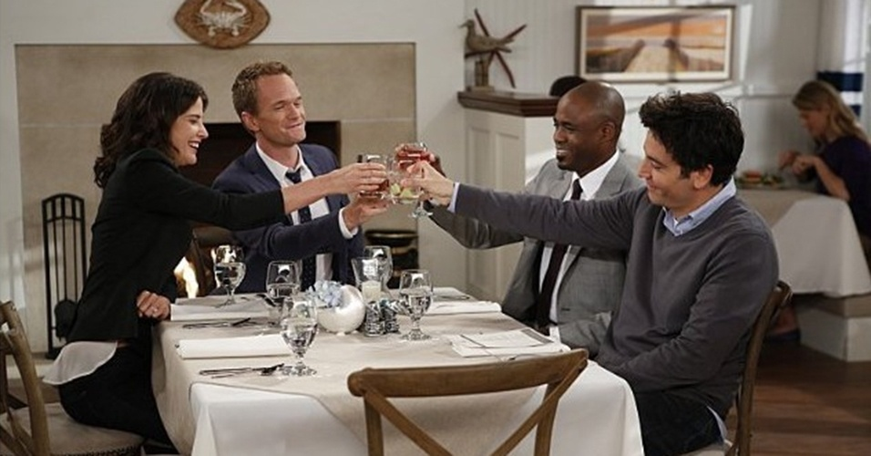 "Cena da nona temporada de ""How I Met Your Mother"""