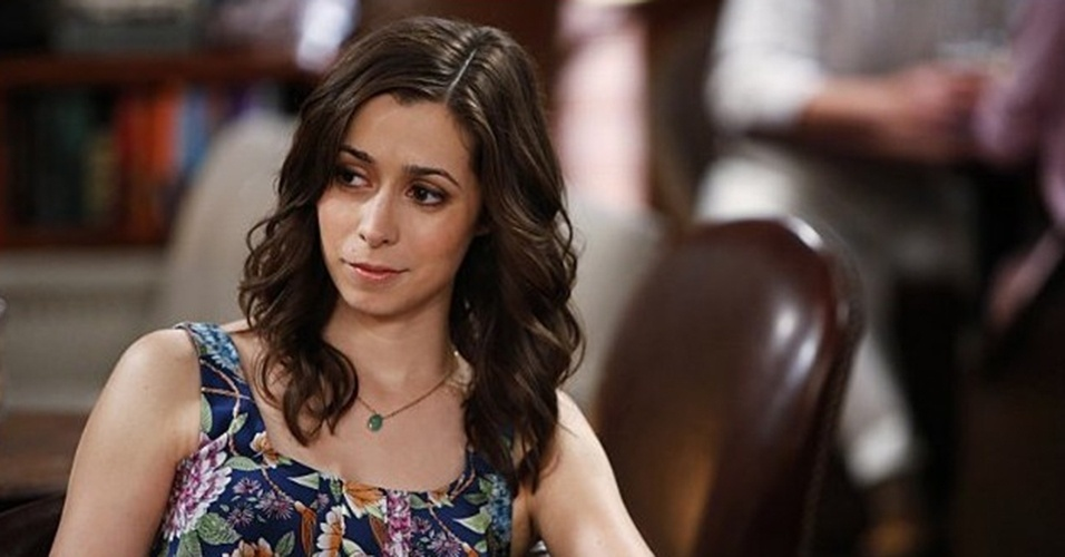 "Cristin Milioti em cena da nona temporada de ""How I Met Your Mother"""