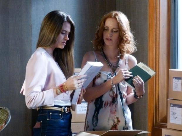 """Em """"Além do Horizonte"""", Lili encontra símbolo misterioso em livros de seu pai"""