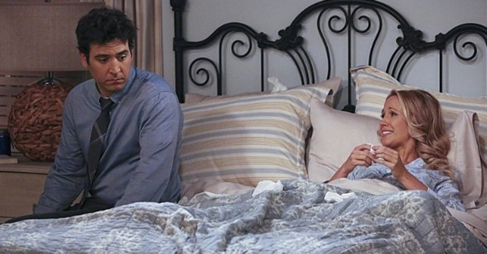 "Josh Radnor em cena da nona temporada de ""How I Met Your Mother"""