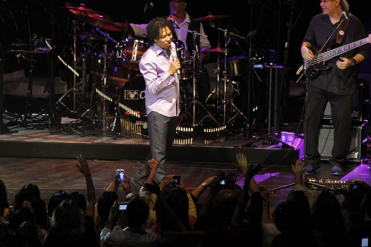 8.nov.2013 - Djavan apresenta seu novo show