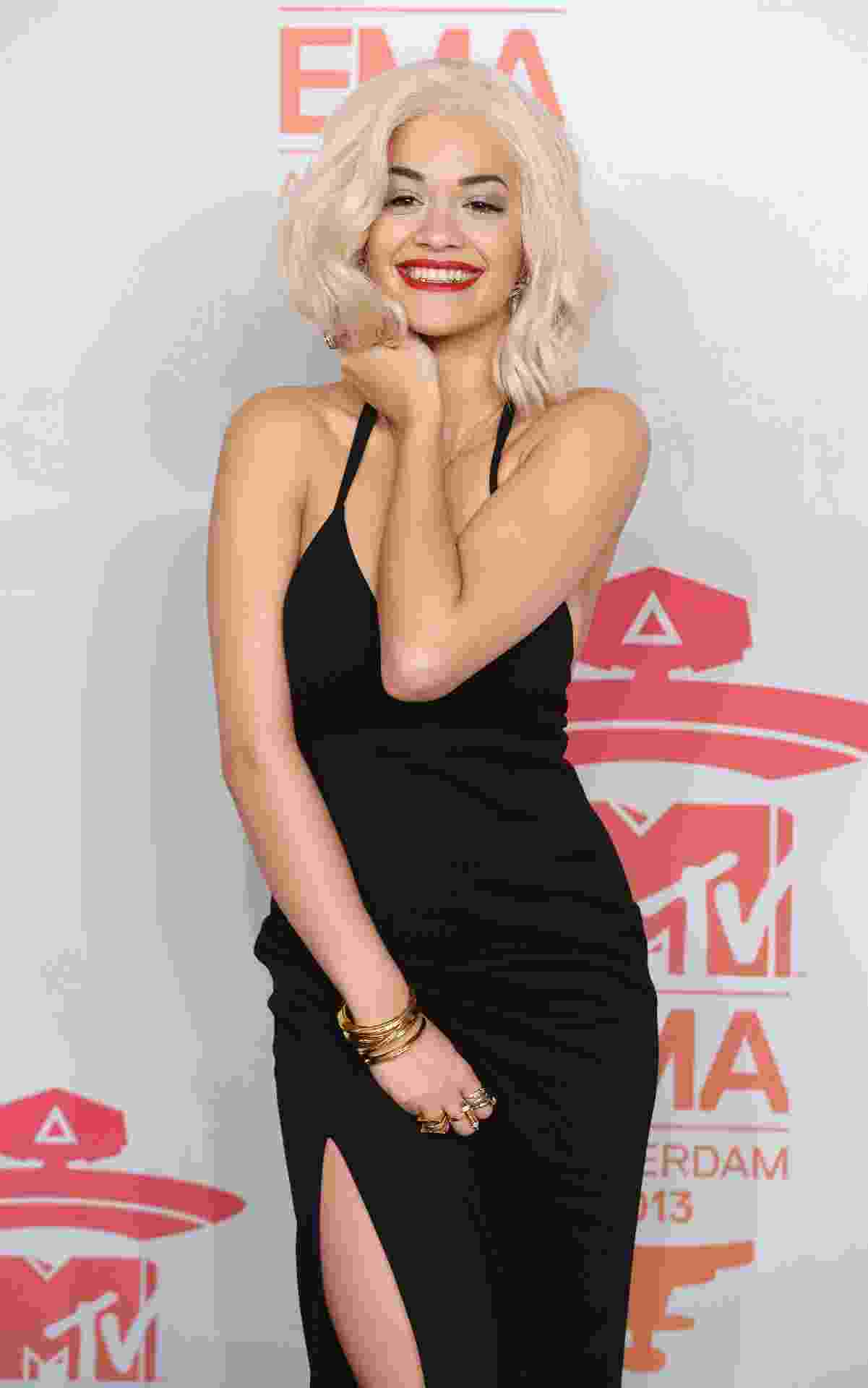 10.nov.2013 - Rita Ora no EMA - REUTERS
