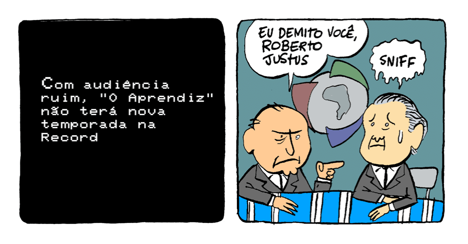 """12.nov.2013 - """"Aprendiz"""" não terá nova temporada na Record"""