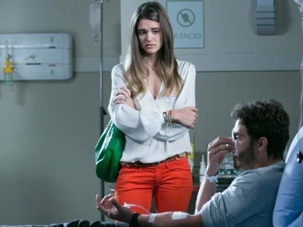 """Em """"Além do Horizonte"""", William coloca Lili contra a parede"""