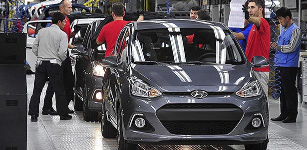 Hyundai amplia alcance pelo mundo (na imagem, fábrica na Turquia) e enfrenta problemas de qualidade - EFE