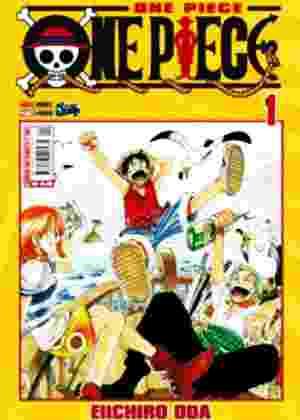 """Capa do mangá """"One Piece"""", distribuído no Japão - Divulgação"""
