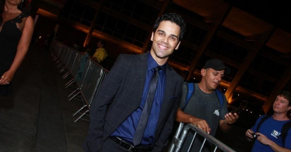 12.nov.2013 - Josafá Filho prestigiou a 15ª edição do Prêmio Extra de Televisão. O evento aconteceu em uma casa de shows do Rio