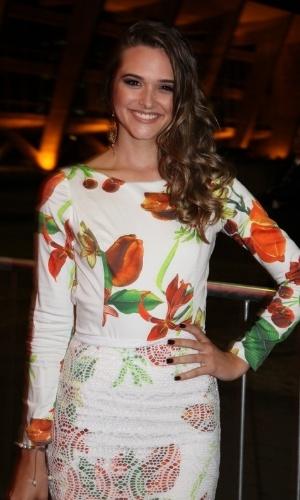 12.nov.2013 - Juliana Paiva prestigiou a 15ª edição do Prêmio Extra de Televisão. O evento aconteceu em uma casa de shows do Rio