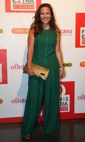 12.nov.2013 - Tatiana Alvim prestigiou a 15ª edição do Prêmio Extra de Televisão. O evento aconteceu em uma casa de shows do Rio